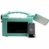 Camping Helper Portable Solar Tv With Solar Panel And Mp4,Fm ...
