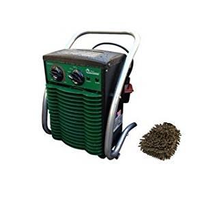 Dr. Heater Greenhouse Garage Workshop Infrared Heater, 1500-watt, DR218-1500W (Complete Set) w/ Bonus: Premium Microfiber Cleaner Bundle