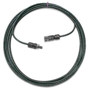 20ft. Solar Cable XLPE insulated #10 PV cable extension with MC4 Female and Male connectors