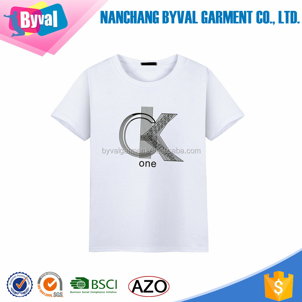 200gsm mens 100% combed cotton tshirt custom pattern printed o neck short sleeve jersey tshirt wholesale