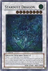 Yu-Gi-Oh! - Stardust Dragon (TDGS-EN040) - The Duelist Genesis - 1st Edition - Ultimate Rare