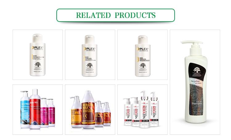 OEM Silk Keratin Shampoo and Conditioner for Keratin Treated Hair