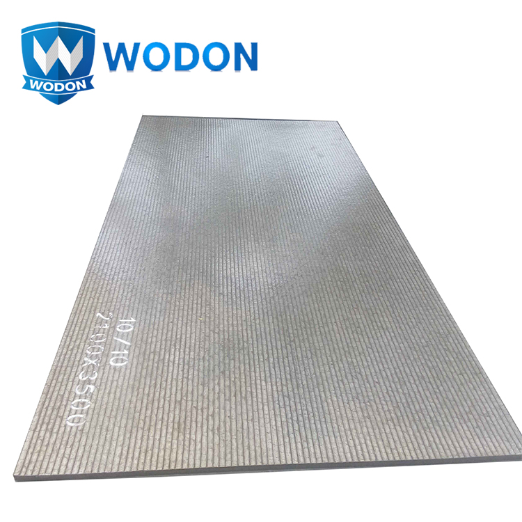 China factory base plate high tensible clad wear lessness steel plate