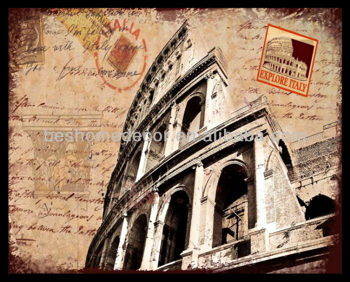 postage stamp canvas prints
