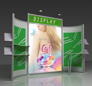Custom Modular Exhibition Stands : Custom aluminum foldable exhibition stand modular exhibition
