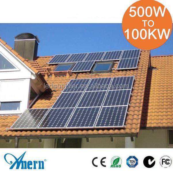 10kw 20kw syst me de panneau solaire pour la maison avec. Black Bedroom Furniture Sets. Home Design Ideas