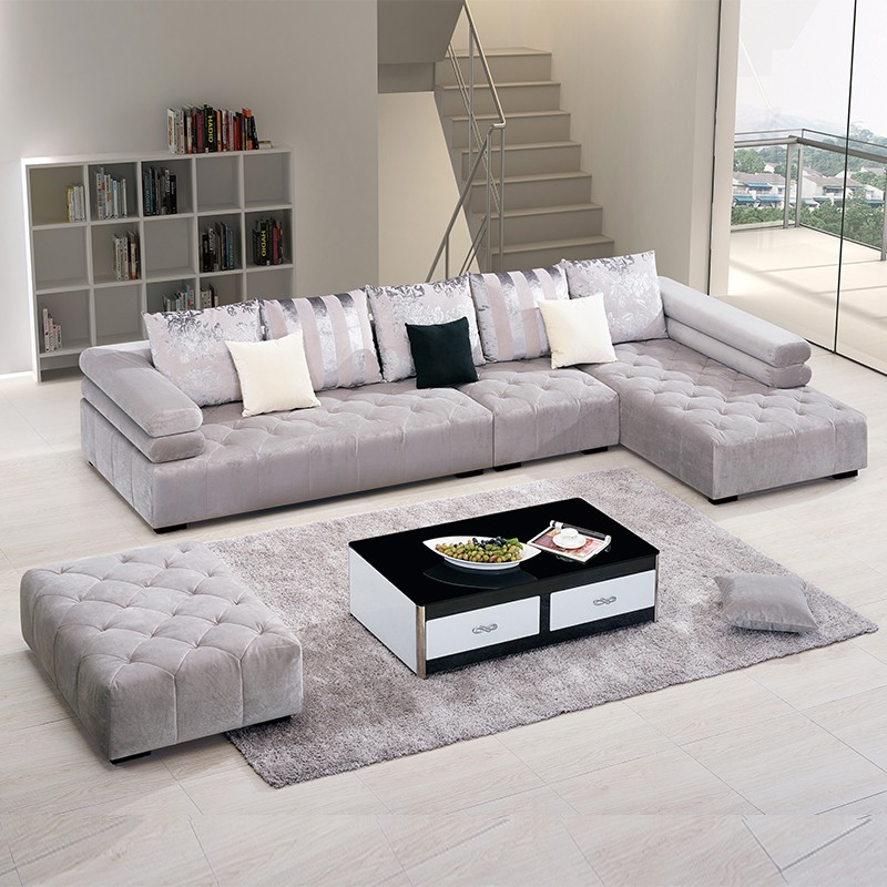 Living Room Floor Seating Furniture Low Seat Sofa Df007