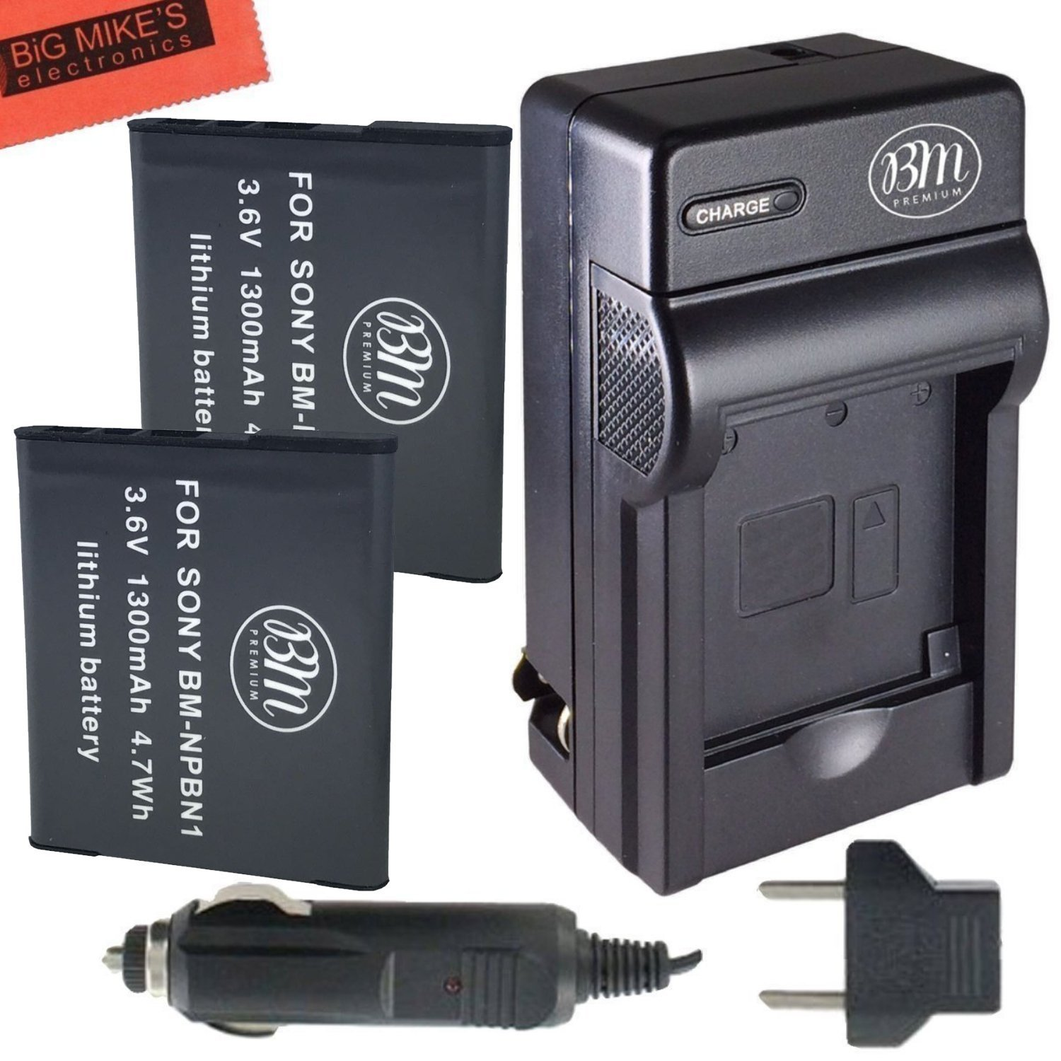 Buy Bm Premium 2 Pack Of Np Bn1 Batteries For Sony Cyber Shot Dsc Battery Recommended You Teqin Compatible Li Ion