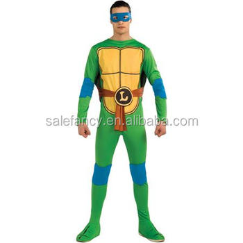 Disfraz De Carnaval Tortugas Ninja Mutantes Adolescentes Leonardo ...