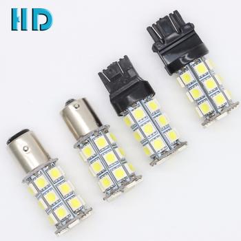 Led Auto Lights >> Auto Lighting System 1156 Ba15s 1157 Ba15d T20 7440 7443 T25 3156 3157 White 27smd 5050 12v Auto Car Led Bulbs Buy Led Car Bulb Led Car Lights T20