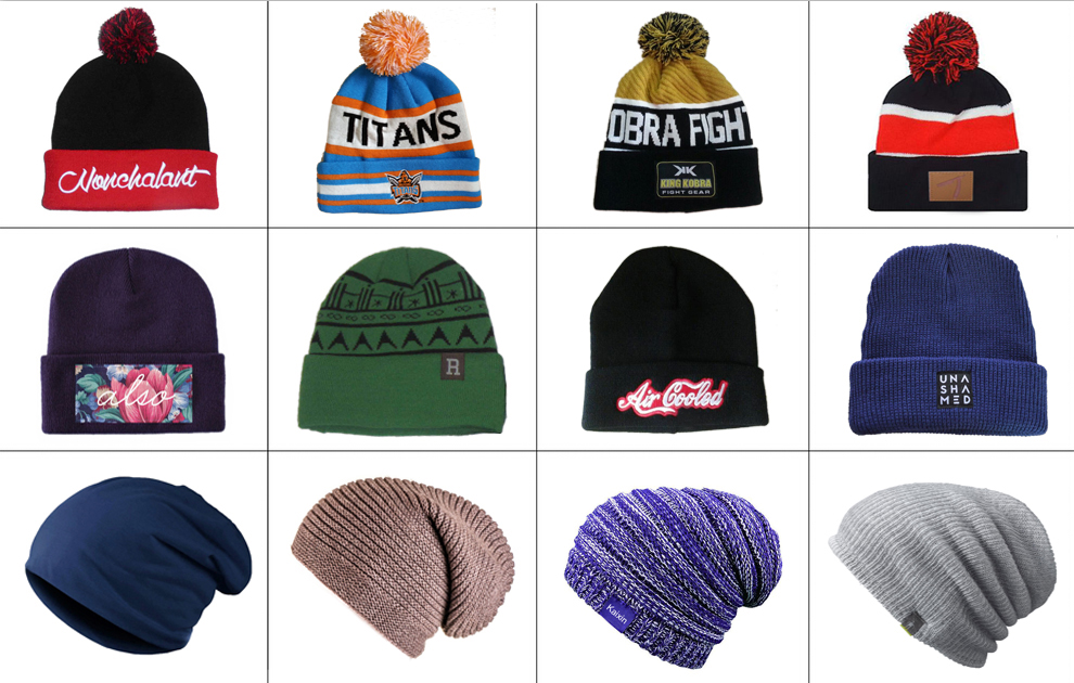 4590e953407 Discount Hot Sale New Mens Winter Cool Caps Handmade Wool Beanie Caps and  hats with flag