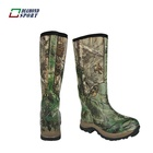 Hunter mens rubber printed wellies military boot