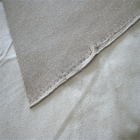 100 polyester tricot super ultra 4 way stretch double sided emboss suede for clothing fabric