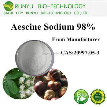 Aesculus chinensis P.E.,aescin,escin powder 20%-98% manufacturer HPLC/UV