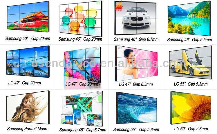 46inch Xxx Video China Lcd Video Display Advertising Ultra Thin ...