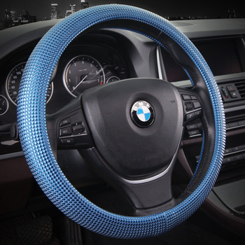 Auto leather Steering Wheel Covers Car Auto Accessories Wheel Covers