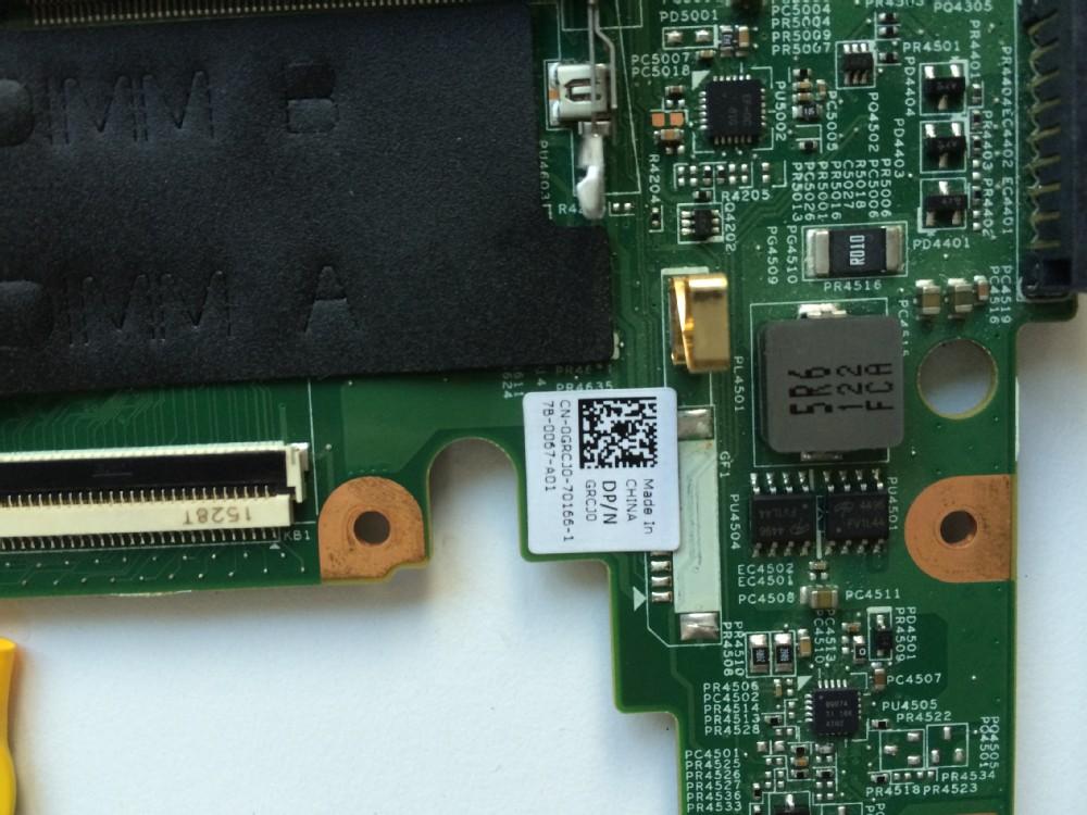 0grcj0 Grcj0 Non-integrated Motherboard Mainboard For Dell Vostro ...