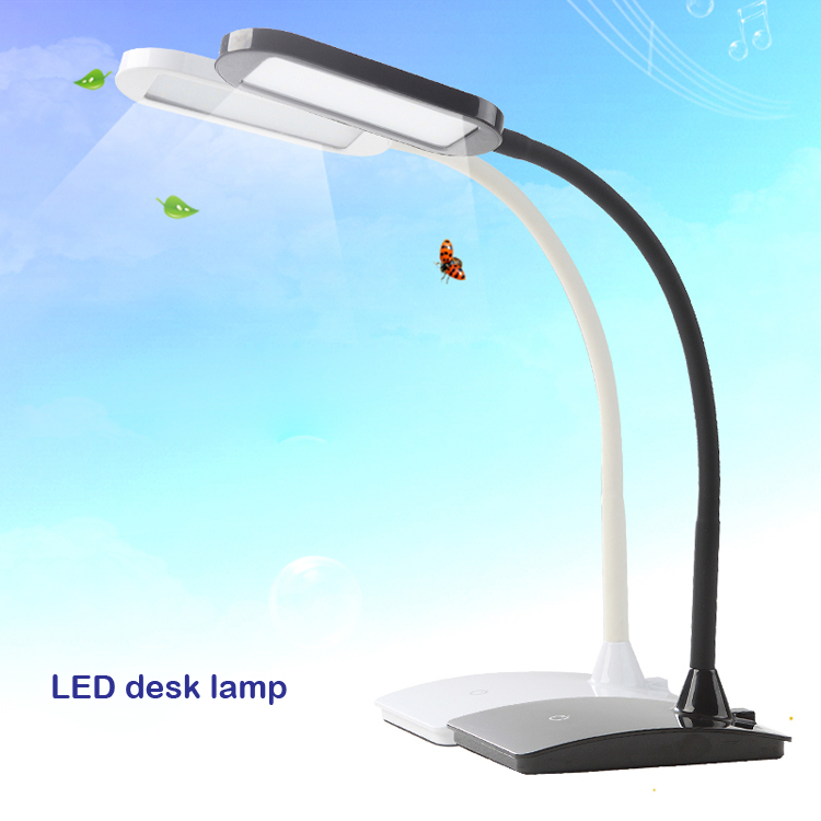 Modern Flexible Gooseneck Desk Lamp Eye-caring Dimmable Led Table Lamp With Usb