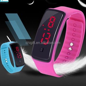 King Quartz Watches Touch Screen LED Watch