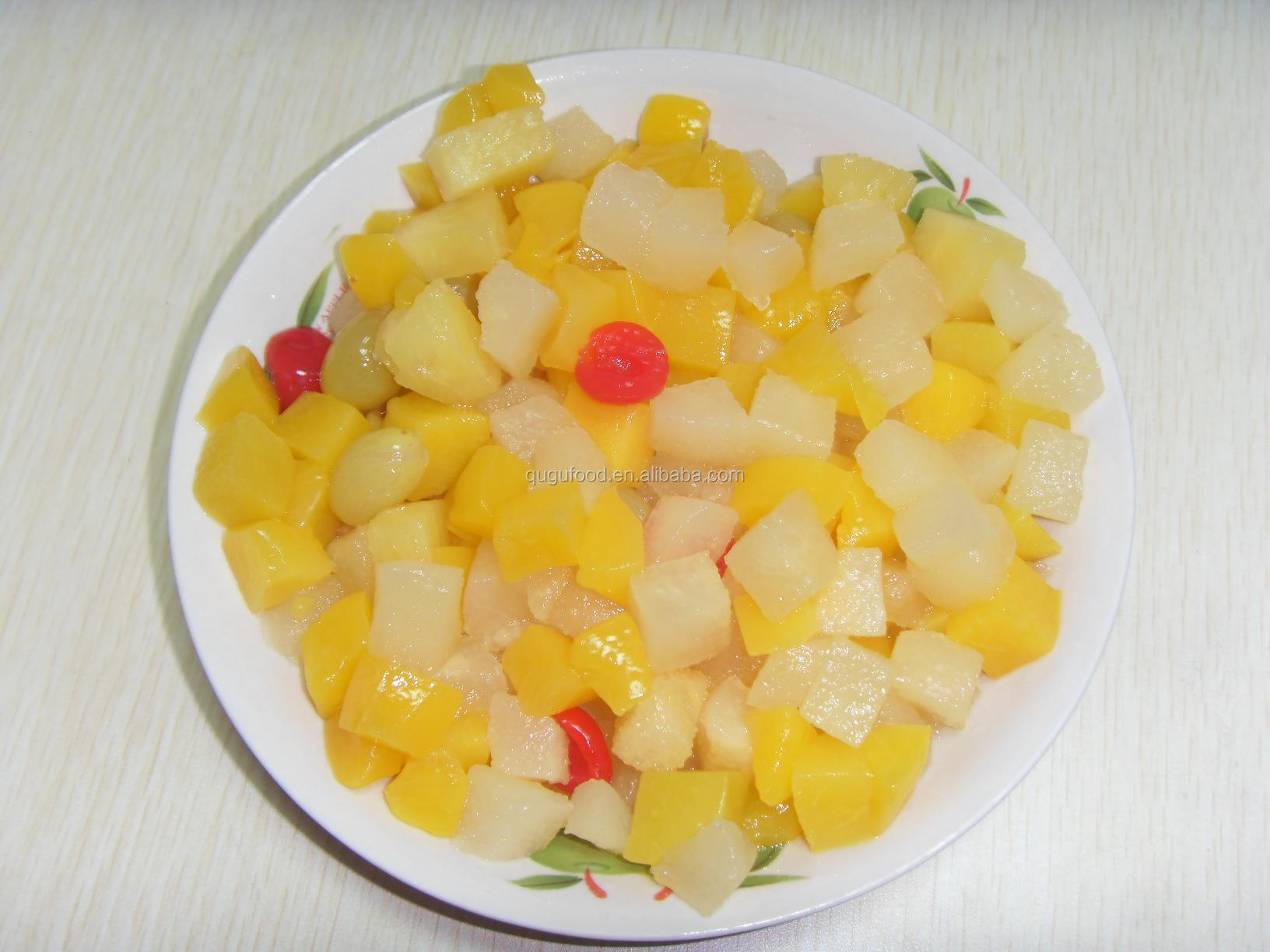 how to make mixed fruit salad