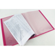 Factory Wholesale Office PP Plastic display book A4 20 Pocket Clear Book