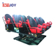China factory Indoor amusement 5d 7d 9d mobile cinema mobile production truck for sale+home cinema seating 5d