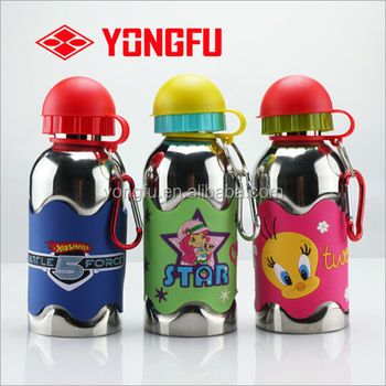 stainless steel sports water bottle with sports bottle cap