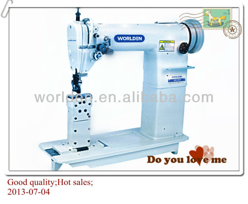 WD-6820 Double Needle Post Bed industrial Sewing Machine