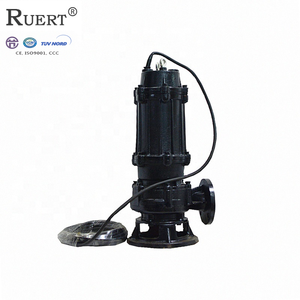 Durable cast iron volute of 3hp pond dredging submersible sand pump for sale