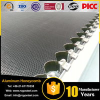 Aluminum foil thickness 0.04-0.08mm Stone Honeycomb Panel With Granite on Top with 15mm