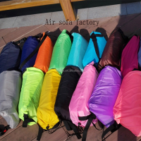 2016 hot sale fashion inflatable sleeping bag beach air bean bag chairs ourdoor bean bag