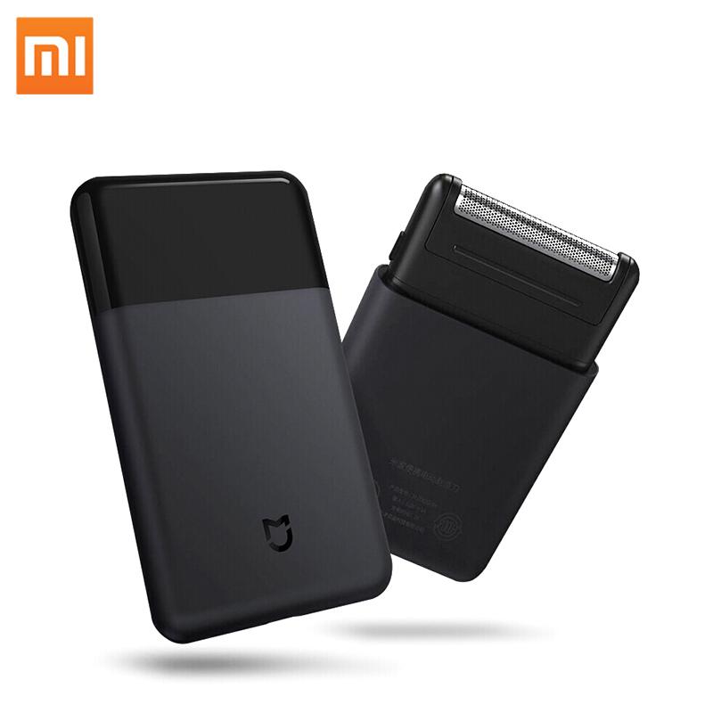 オリジナル Xiaomi 電気シェーバー男性スマートミニポータブルかみそり完全に金属コードレスシェーバー