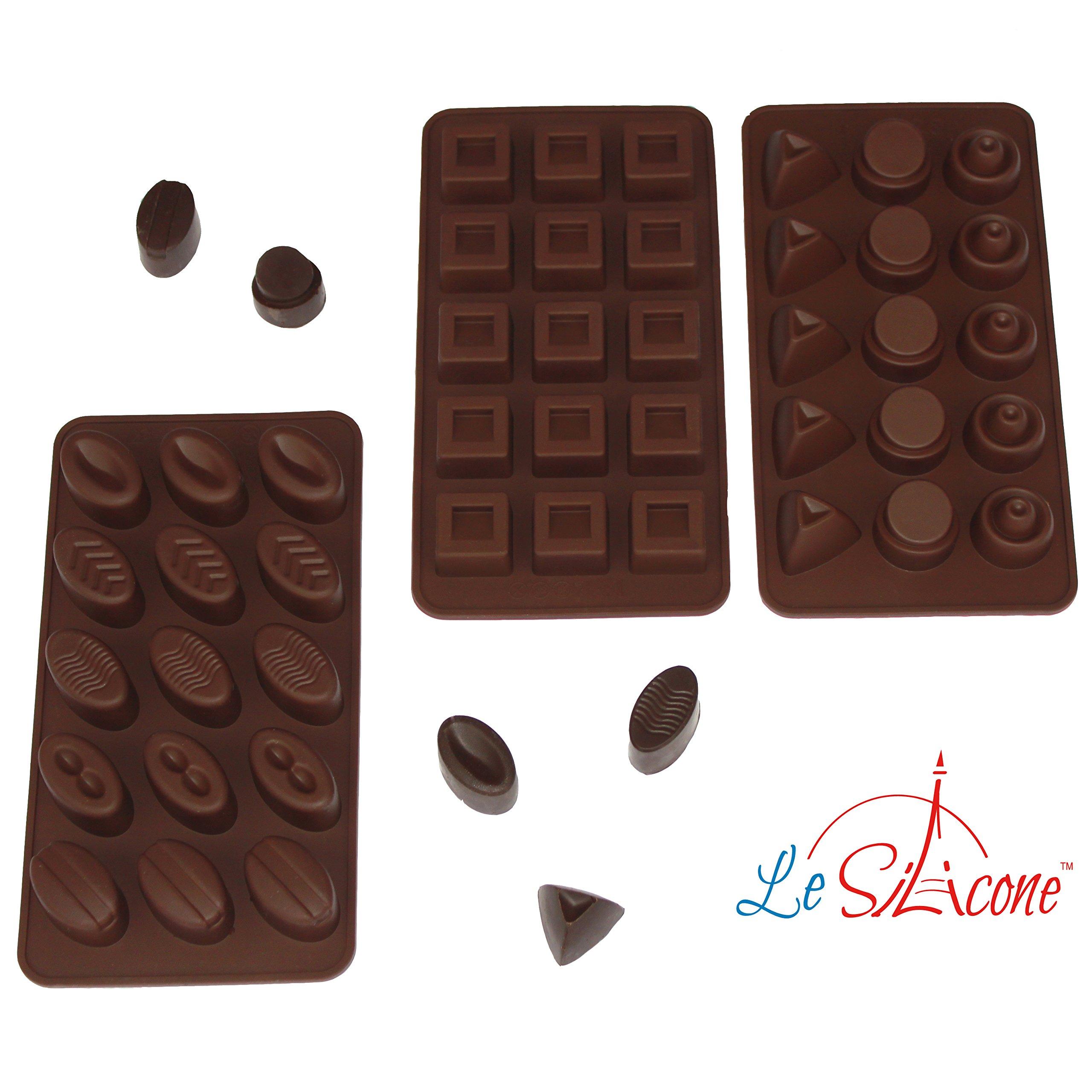 Valentine Bite Size Mini Chocolate Mold Candy Heart Lip cupid Same day ship m341