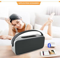 10W 3000mAh Portable wireless speaker BT4.0 for outdoor and handfree calls with high quality stereo audio
