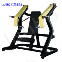 commercial fitness Free Weight Gym Equipment Incline Chest Press From China/Plate Loaded Fitness equipment
