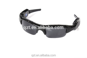 Fast Shipping CMOS Security Hidden Camera Spy Video Recorder Sunglasses