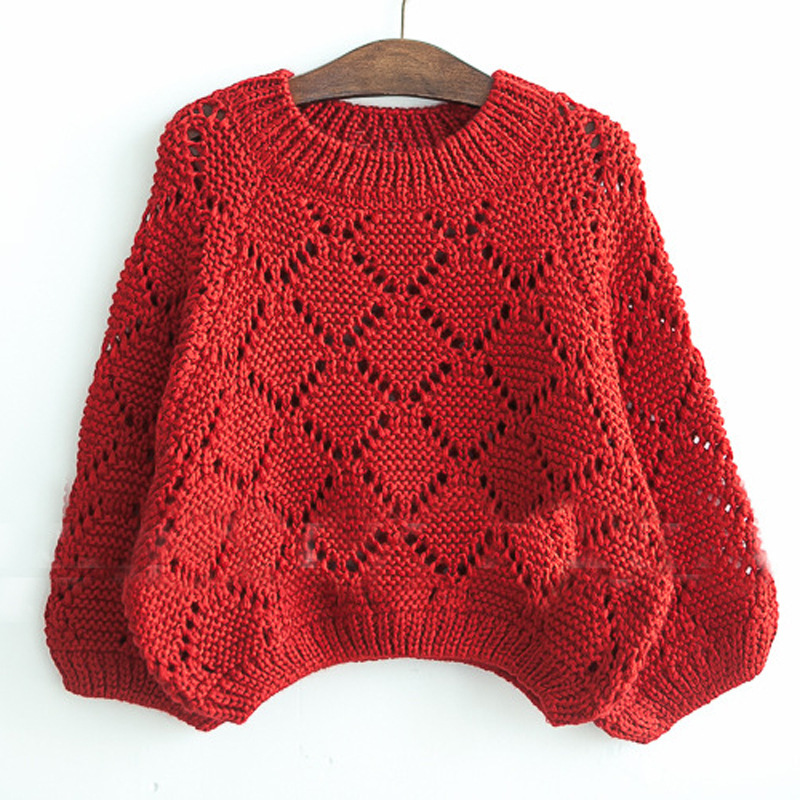 34b872471bd New Fashion Autumn Winter Hollow Pullover Baby Sweater Kids Girls Knitted  Sweater For Girls Sweaters Children