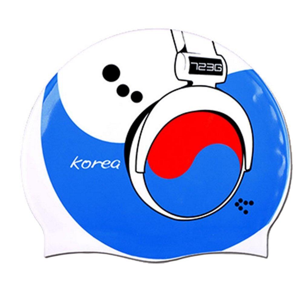 fe7dde4c8a4 Get Quotations · Perfect Silicone Swim Cap Swimming Cap Swim Hat for Mens  Womens, G