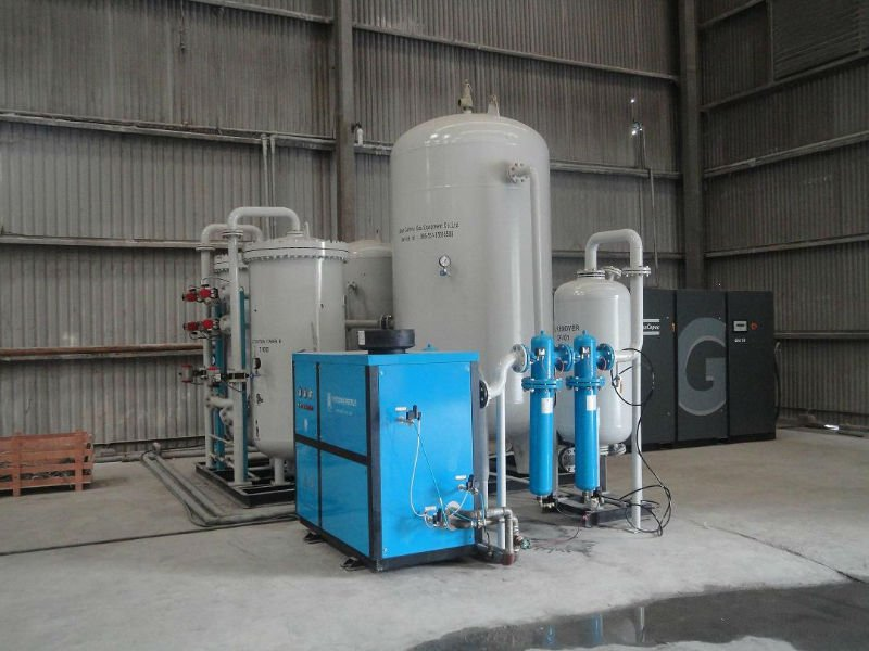 High purity cryogenic liquid gas air separation plant oxygen nitrogen plant