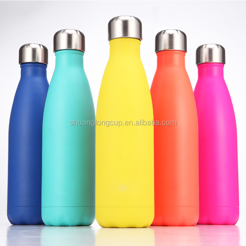 750 ml 25 oz SwellBottle Shaped Stainless Steel Insulated Cooler Water Bottle