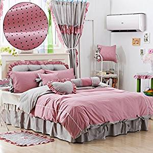 Buy Perfect Gift For Girls Lithe And Graceful Pink Polka Dot Bedding