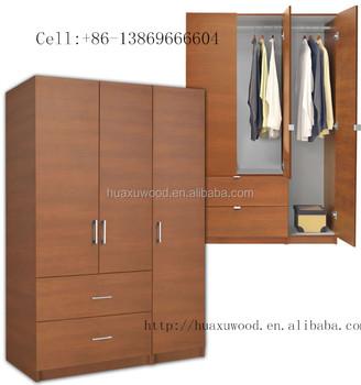 Modern Earance Wooden Wardrobe