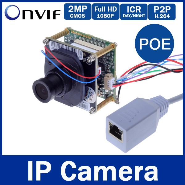 Onvif H.264 P2P 1080P (3MP 3.6mm Lens) Full HD Network  2MP POE Indoor IP
