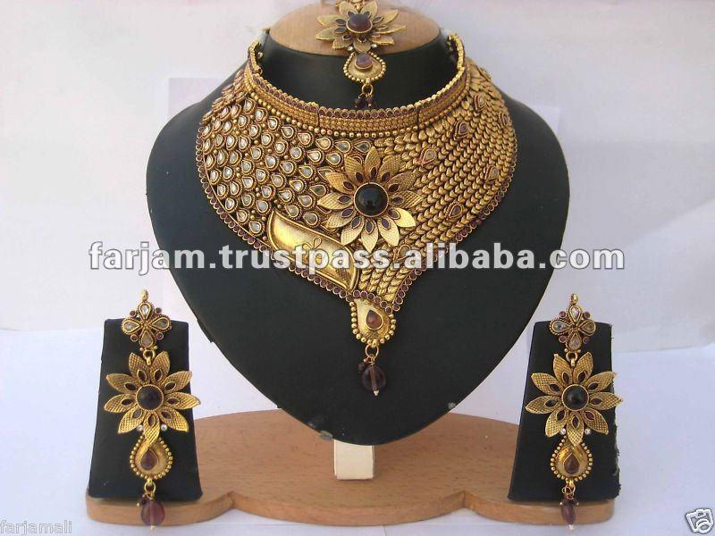 Indian Polki Bridal Jewelry Sets, Indian Polki Bridal Jewelry Sets ...