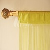 Black color indian style string curtains