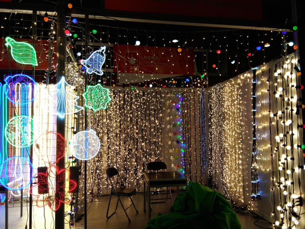 Christmas outdoor decoration waterproof color changing 2 wire flexible 50 meter led rope light