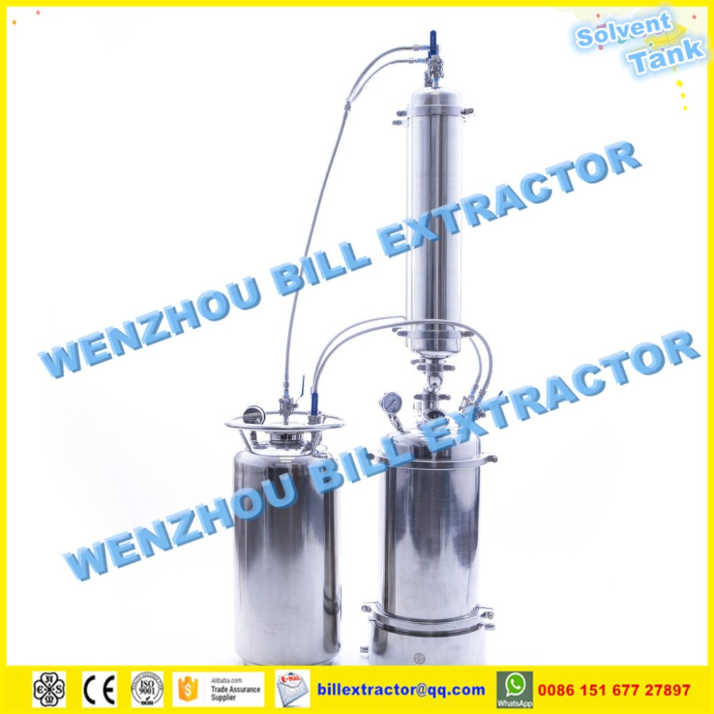 Extractor Set Bho Closed Loop System With 50lb Jacketed
