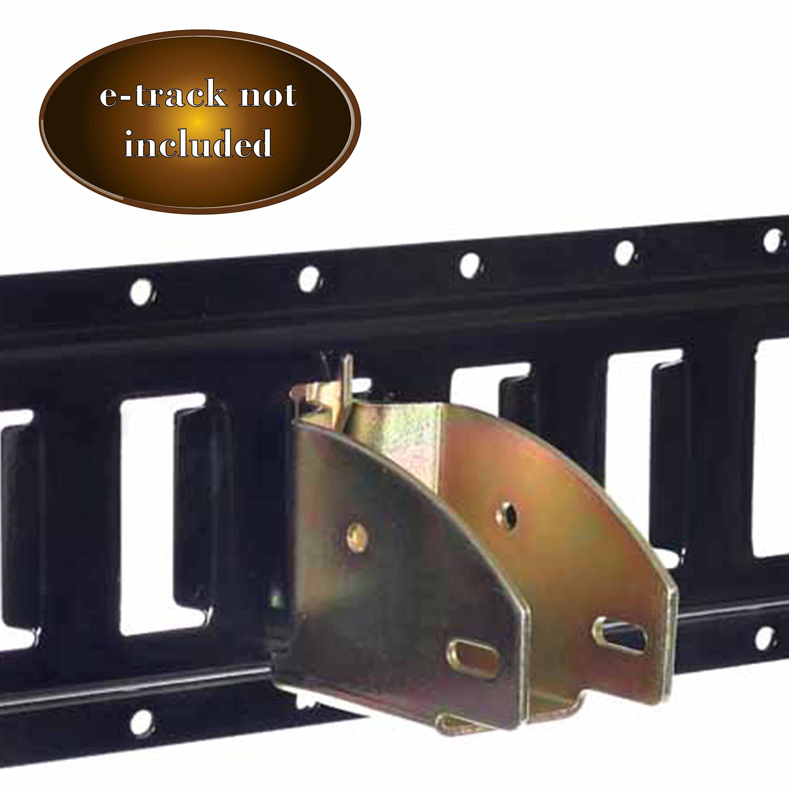 Buy E Track Wood Beam End Socket Shelf Bracket W E Track