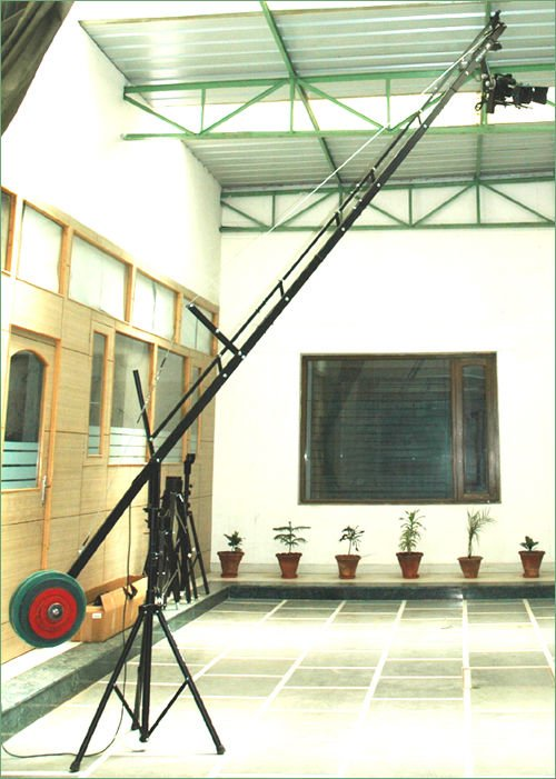 PROAIM 18ft Film Crane with Jib Stand Supporting Cameras weighing upto 7.5kg / 16.5lbs (P-18-JS)