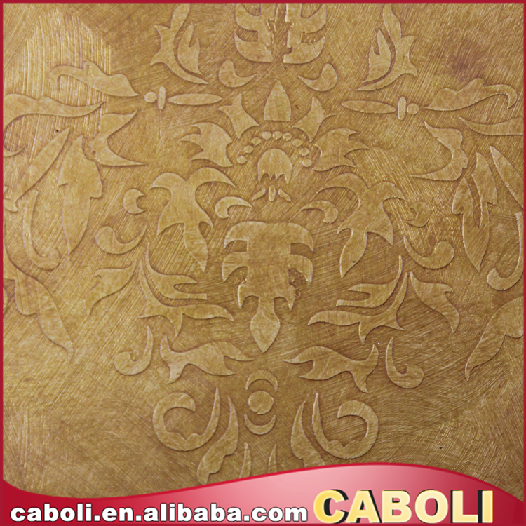 Caboli China Factory Directly Sell Wall Decorative Metal Coating